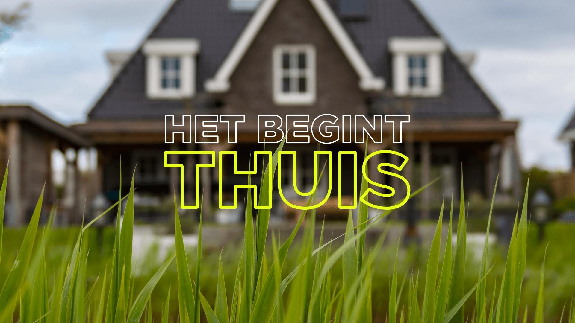 Bekijk de laatste preek van Willem de Vink over Pinksteren begint bij je thuis